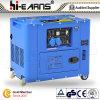Air-Cooled 2 - 5kw Protable тепловозное Genset (DG6500SE)