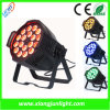 18X10W diodo emissor de luz In1 Lamp PAR Can interno do diodo emissor de luz PAR Can Light 4