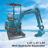 Cx10t mini-excavateur godet hydraulique neuf prix 1000kg