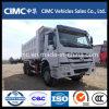 Sinotruk HOWO 10 Rodas/descarga de caminhões de carga HOWO A7 nas Filipinas