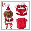 Vêtement d'animal familier de couche de crabot du père noël de produit d'animal familier de décoration de Noël