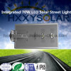 Luz de calle solar integrada de 70W LED