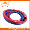 Boyau jumeau de soudure de PVC de surface lisse flexible
