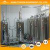 fabricación de la cerveza 600L, cerveza que hace la máquina, los tanques de la cervecería