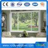 Fabbricazione residenziale di alluminio del portello francese di Windows della stoffa per tendine