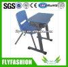 Tabela da escola do metal do projeto e cadeira de madeira (TA-35)