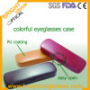 Fashion Metal Eyeglasses Case with Colorful PU Coating (BV017)