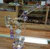 Отличная стекла курения трубки подачи воды с красивым стеклянная чаша