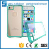 Transparente Crystal Clear TPU Hard Cell Phone Case Back Cover para iPhone 7 7 Plus