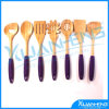 Oceanstar Bamboo Cooking Utensil Set 의 7 피스