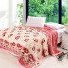 Одеяло норки Китая изготовленный на заказ Blanket дешевое