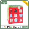 La caja de regalo de Navidad Riotous con patrón de color bolsa de papel de regalo