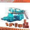 Grande machine de fabrication de brique allumée complètement automatique d'argile