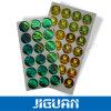 Contrassegni impermeabili olografici metallizzati di obbligazione