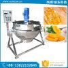 ステンレス鋼の鍋を調理する機械スープを調理する電気暖房の砂糖