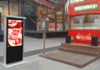 55 дюймов - высокие панели Brightness1500nit~2500nits (солнечного света четкого) LCD (популярный деталь)
