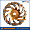 Roda de moedura do copo do diamante do elevado desempenho para a moedura concreta