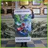 De douane drukte de Hangende Banner van het Decor van het Huis van de Banner van de Rol af