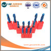 1,5X4X50 HRC de carburo de tungsteno45-68 2 flauta Ballnose Molino final
