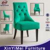フランスの旧式な居間のソファーのカシ木麻布によって装飾されるウィングチェアのソファー(XYM-H07)