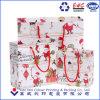 Dibujos animados de Navidad personalizadas bolsas de papel, papel comercial bolsa de regalo