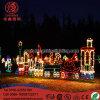 Het Licht van de Decoratie van Chriatmas van het Motief van de Achtbaan van LEIDENE Kerstmis van Ligthing 2D