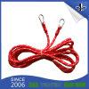 Cordon élastique élastique personnalisé à la mode avec pinces en plastique