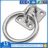 Quadrato dell'acciaio inossidabile con il piatto dell'occhio dell'anello