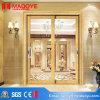 Алюминиевая раздвижная дверь американского стандарта профиля с картиной