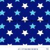 Tela do Swimwear da impressão 80%Nylon 20%Spandex das estrelas