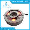 Luz impermeable subacuática de la luz de la piscina de la fuente LED de IP68 12VDC RGB