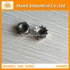 Écrou borgne du prix concurrentiel solides solubles 304 M2-M16 K d'acier inoxydable
