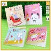 Carte de voeux de papier se pliante décorative personnalisée de carte postale de carte de cadeau de Noël