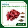 Alta calidad Schisandra Chinensis (turcz.) Baill. Polvo del extracto de la fruta/extracto de las bayas de Schisandra