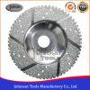 de 100125mm Gesegmenteerde Gegalvaniseerde Wielen van de Kop van de Diamant voor het Malen van het Marmer en van het Graniet