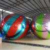 غنيّ بالألوان قابل للنفخ زخرفة مرآة كرة