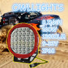 새로운! Trailer Tractor Folklift를 위한 4X4 LED Spot Lights 9 Inch 96W Auto Part Round Shape LED Driving Light