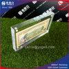 中国100及び米国1のアクリルのお金フレーム