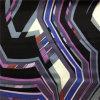Сатинировка Geormetrical напечатанная конструкцией Silk