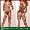 2018 fábrica Barato preço grossista Fishnet preta lingerie sexy