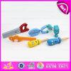 Nova ferramenta de pré-escolar Conjunto de brinquedos, fingir de jogar brinquedo de madeira, Ferramenta de madeira brinquedo para o bebé, Kids Brinquedo Ferramenta Definir W03C019