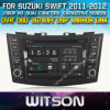 Witson Car DVD für Suzuki Swift 2011-2012 (W2-D8653X) Car DVD GPS 1080P DSP Capactive Screen WiFi 3G Front DVR Camera