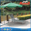 Mobilia esterna Sunbed del giardino di WPC/Polywood