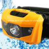 Lr03 AAA Battery*3 싼 가격 Pleastic LED 헤드라이트