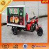 Triciclo popular de la caja de la cabina de Enclosec del alimento