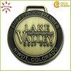 中国のAntique Brass WholesaleのゴルフClub Logo Medal