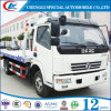 Dongfeng都市使用の販売のための平面道のレッカー車