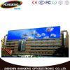 높은 광도 P6 옥외 풀 컬러 LED 영상 벽