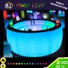 Nachladbares LED-Möbel RGB-Farben-ändernder Stab-gebogenes Kapitel
