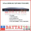 1u tipo potencia 8 Gpon portuario Olt del doble con 2 GE SFP+ del acceso 10